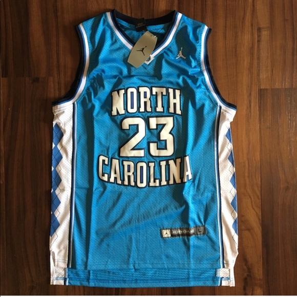 size 40 9104a d0a2b Jordan #23 Michael Jordan UNC Throwback Jersey NWT